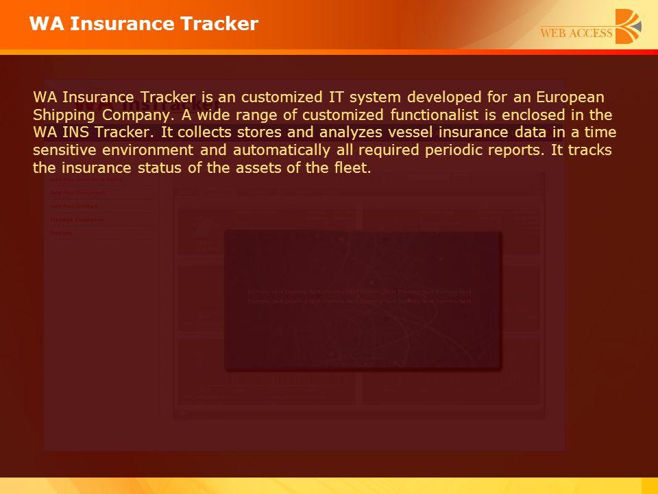 WA Insurance Tracker