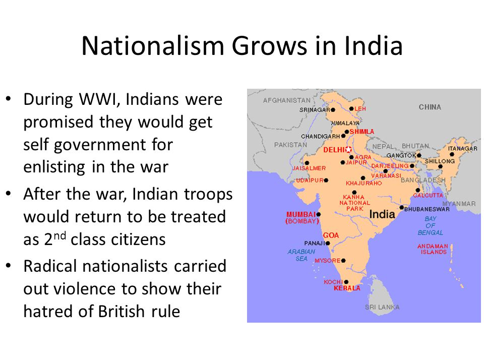 Nationalism Grows in India