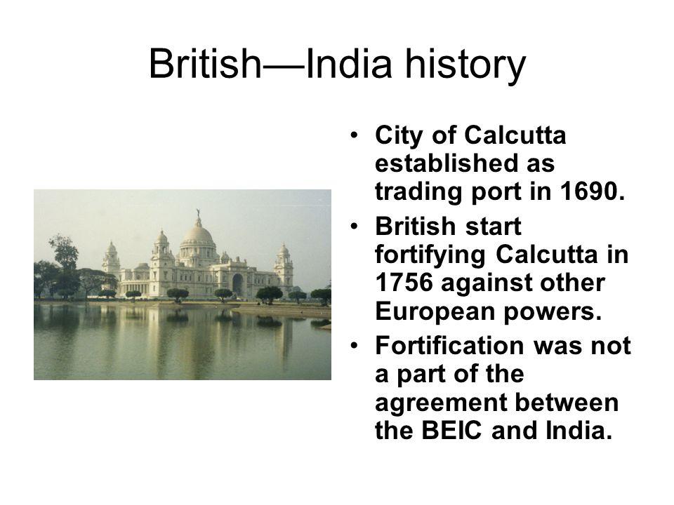 British—India history