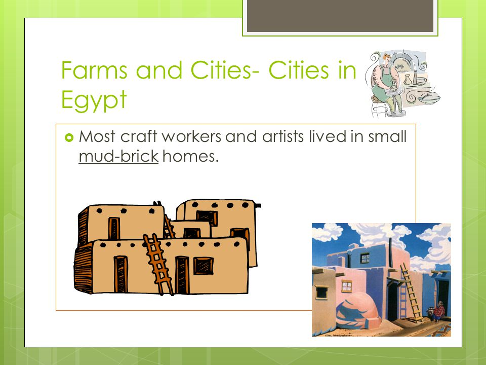 Farms and Cities- Cities in Egypt