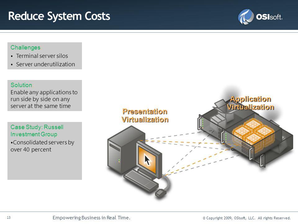 Application Virtualization Presentation Virtualization