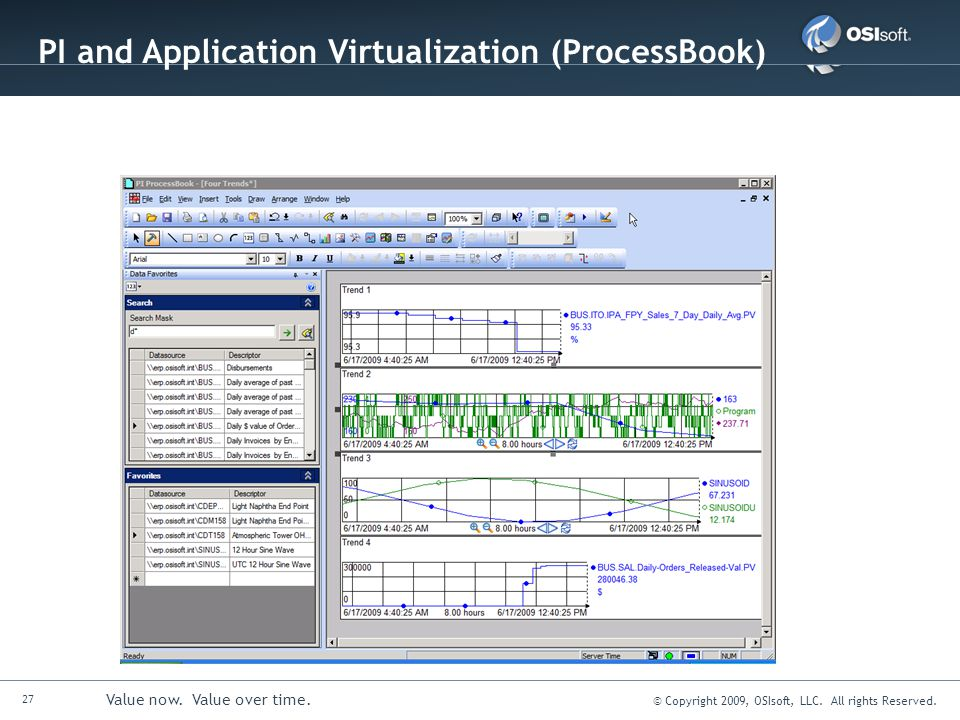 PI and Application Virtualization (ProcessBook)