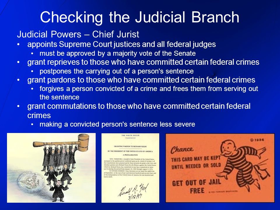 Checking the Judicial Branch