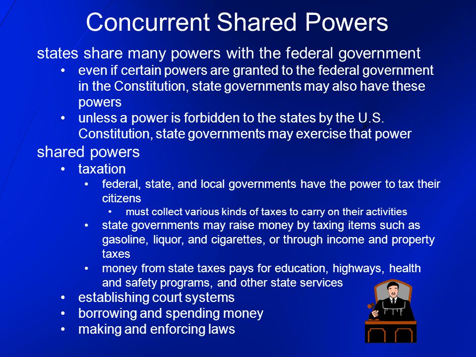 Concurrent Shared Powers