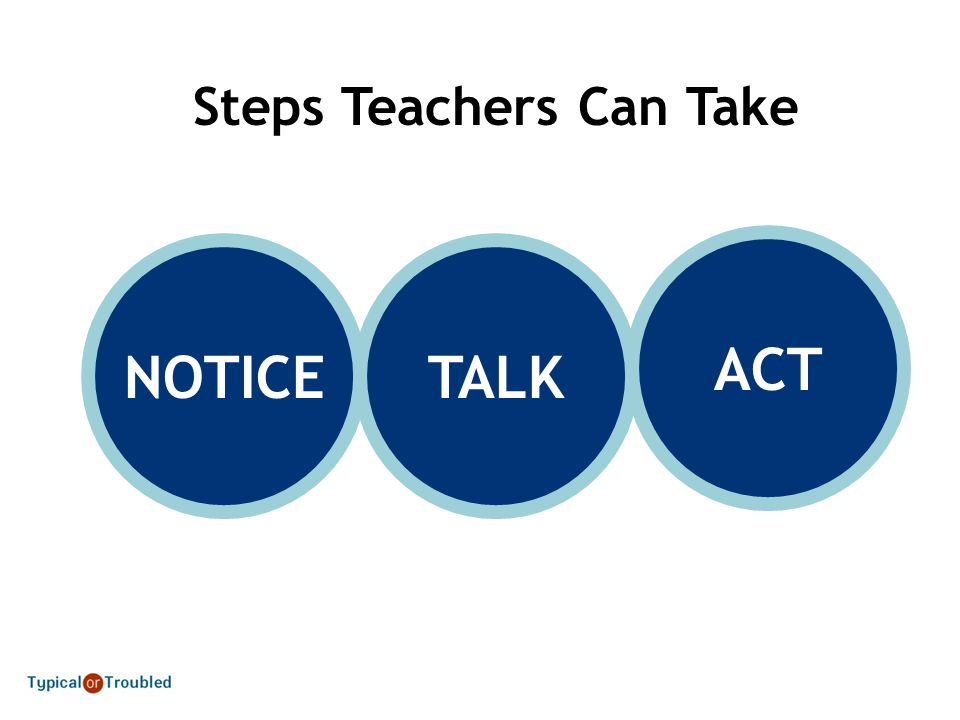 Steps Teachers Can Take