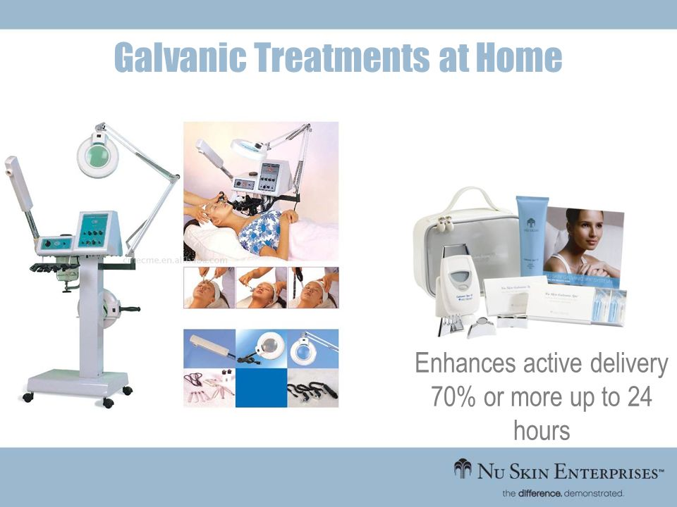 Galvanic Treatments at Home