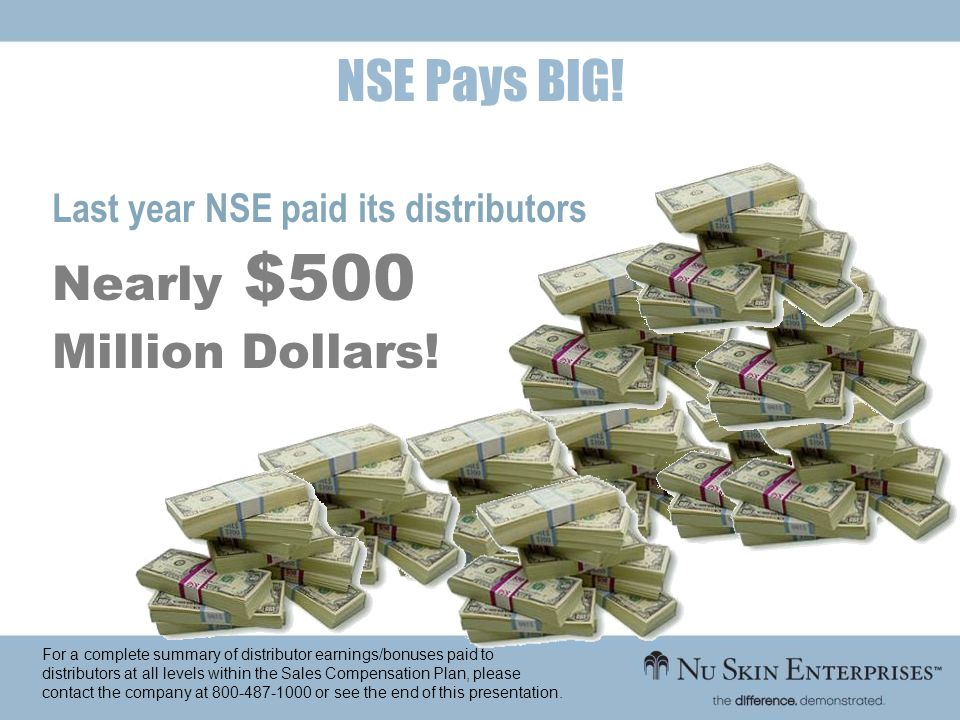 NSE Pays BIG! Nearly $500 Million Dollars!