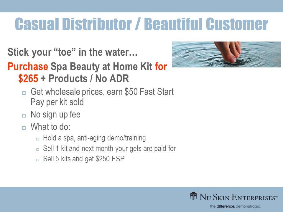 Casual Distributor / Beautiful Customer