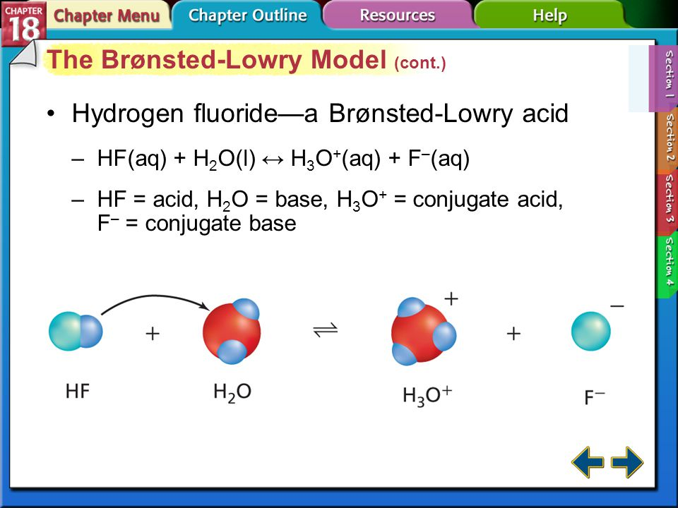 The Brønsted-Lowry Model (cont.)