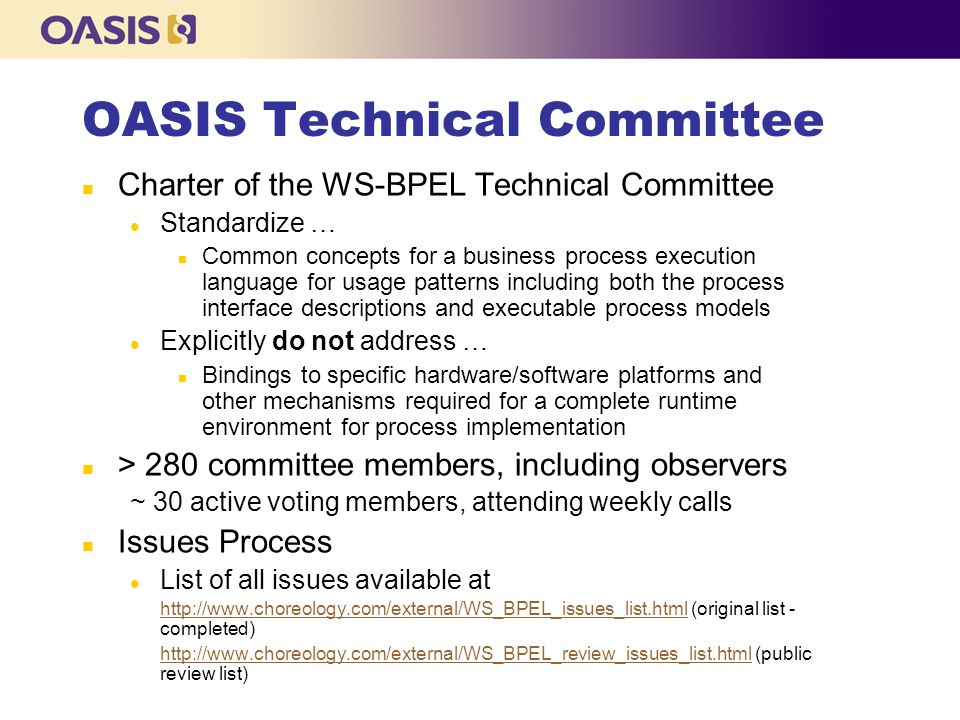 OASIS Technical Committee