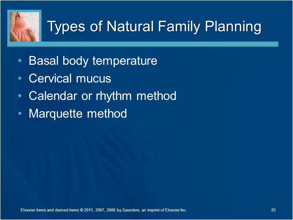Types of Natural Family Planning