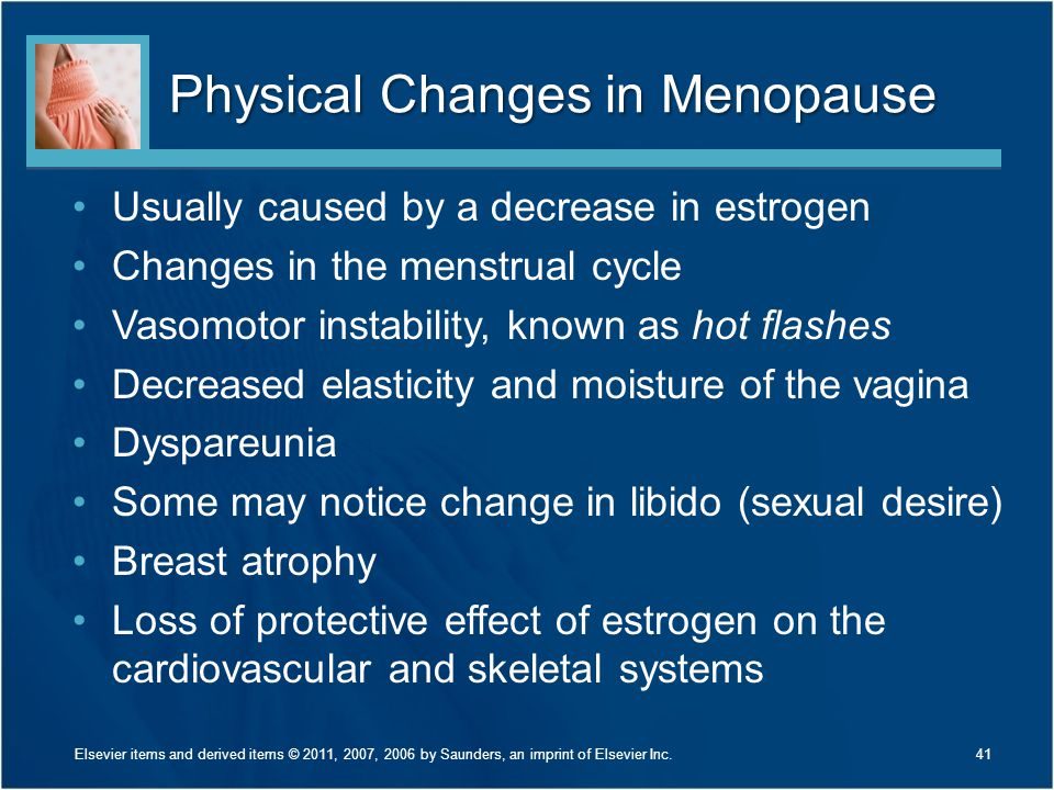 Physical Changes in Menopause