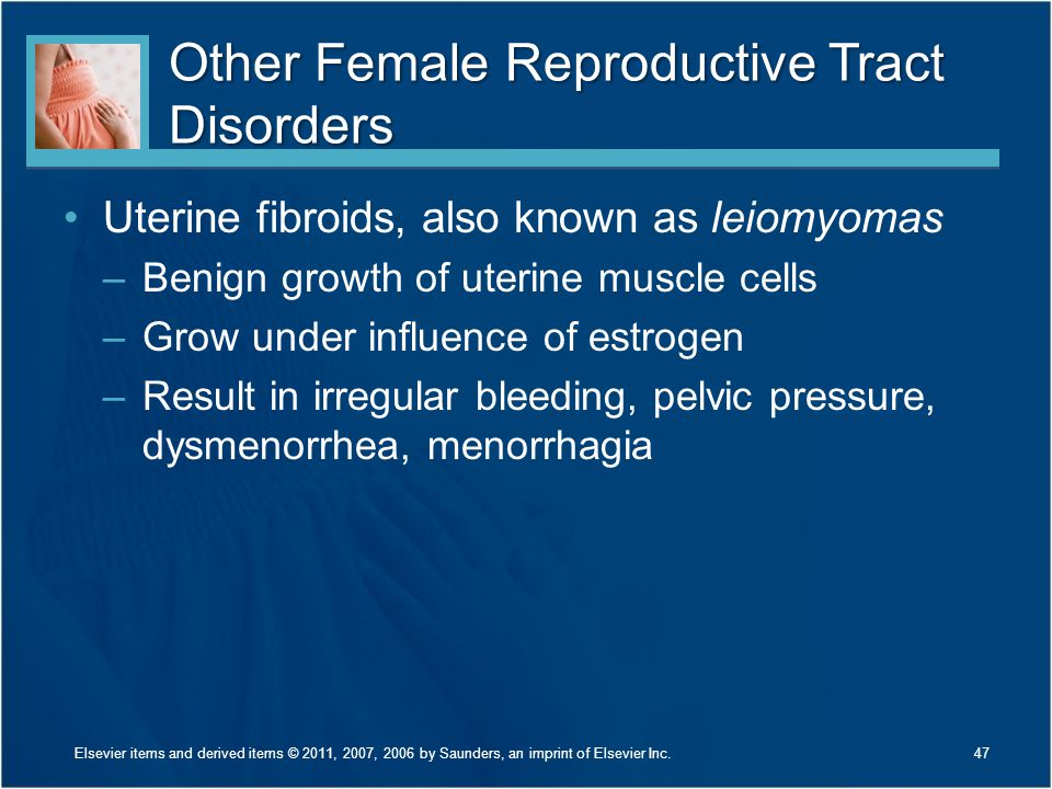 Other Female Reproductive Tract Disorders