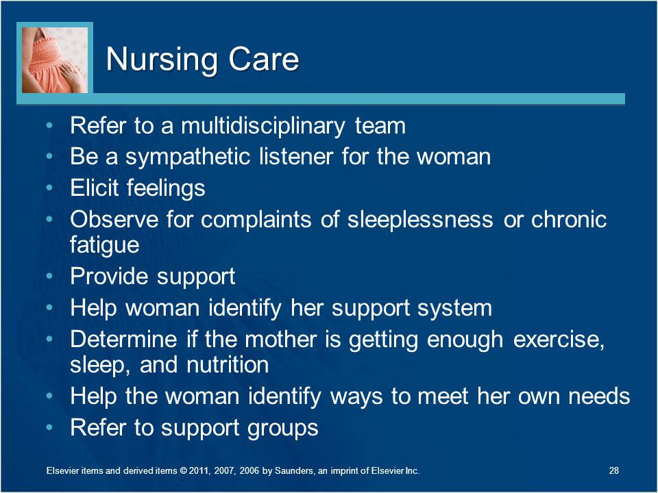 Nursing Care Refer to a multidisciplinary team