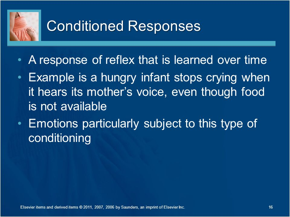 Conditioned Responses