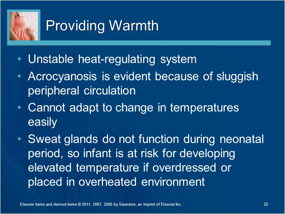 Providing Warmth Unstable heat-regulating system