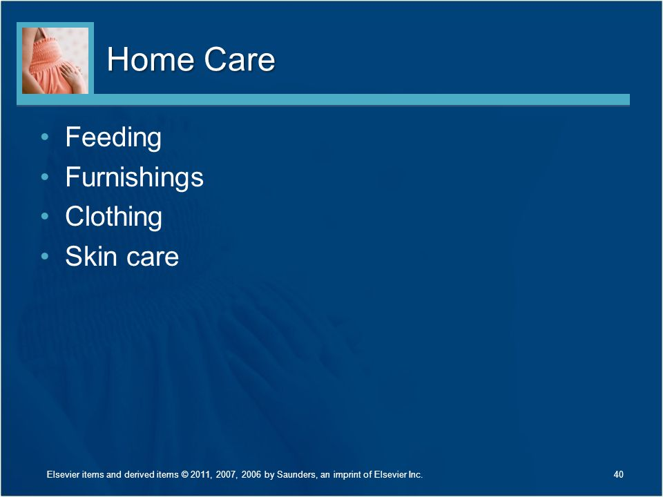 Home Care Feeding Furnishings Clothing Skin care