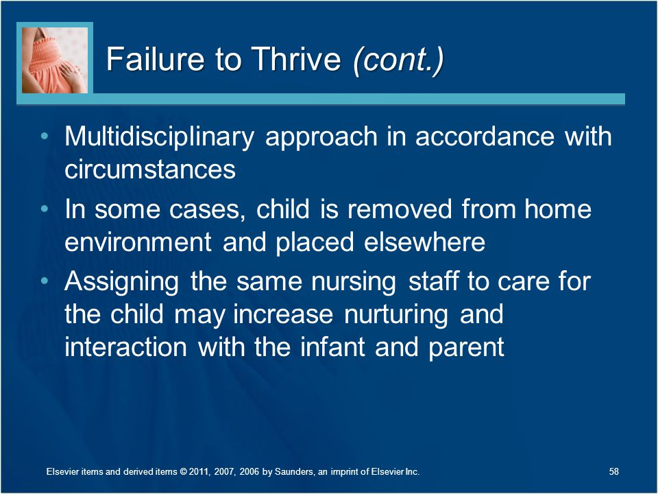 Failure to Thrive (cont.)
