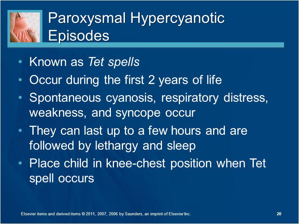 Paroxysmal Hypercyanotic Episodes