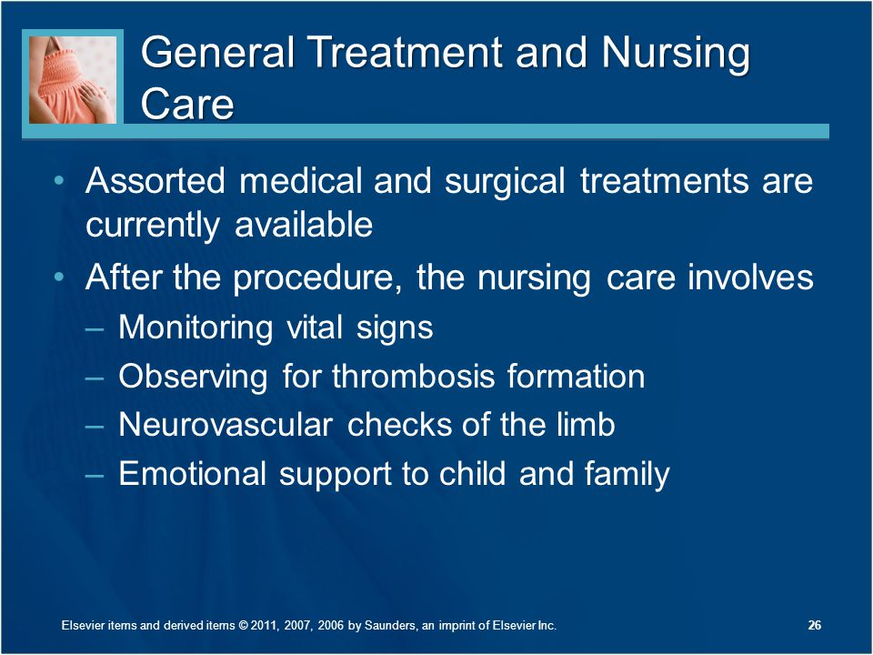 General Treatment and Nursing Care