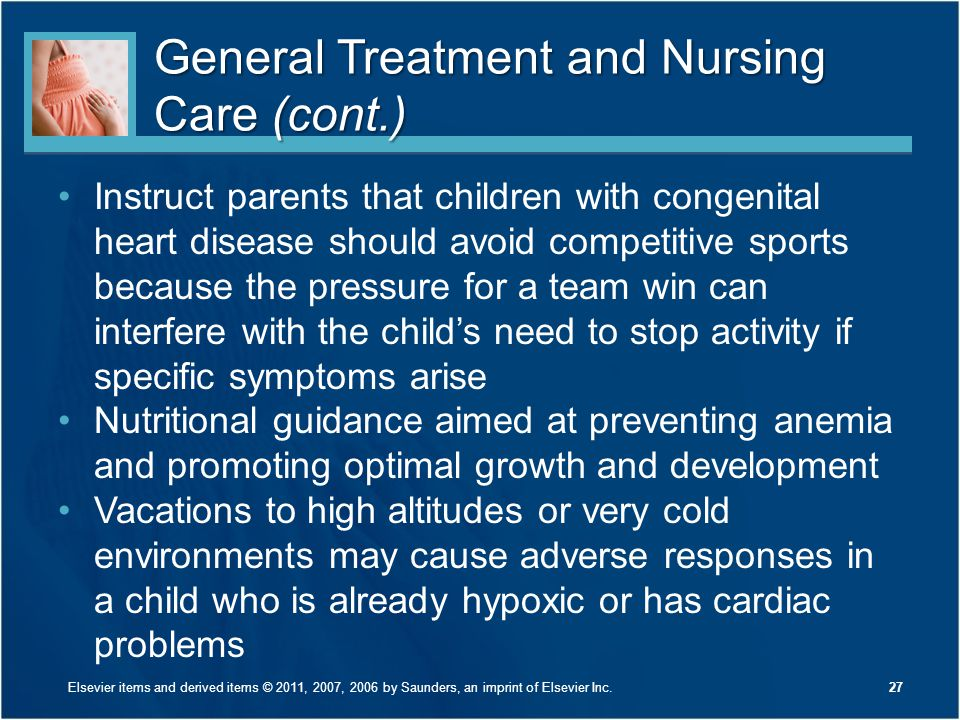General Treatment and Nursing Care (cont.)