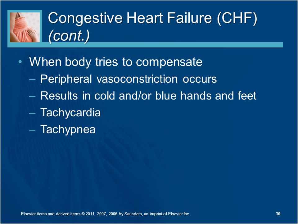 Congestive Heart Failure (CHF) (cont.)
