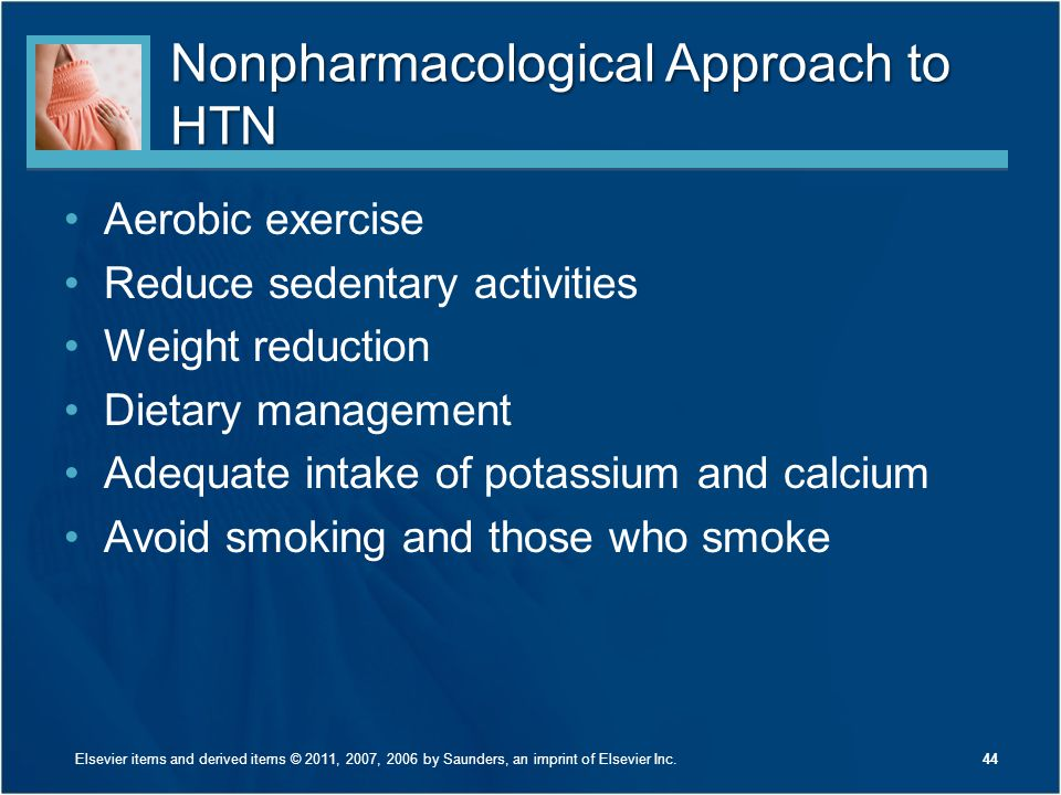 Nonpharmacological Approach to HTN