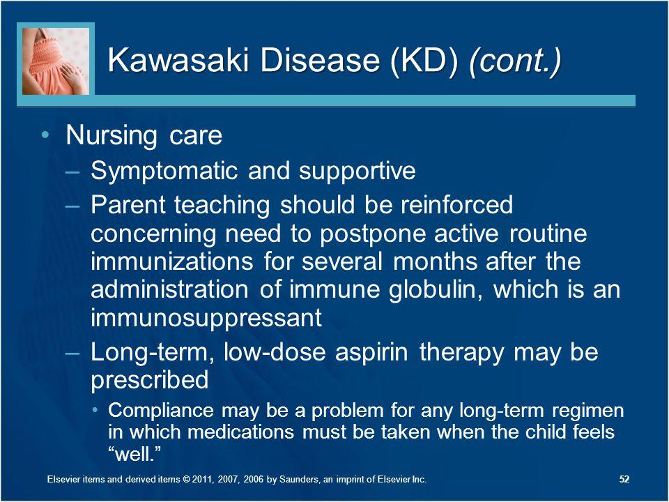 Kawasaki Disease (KD) (cont.)