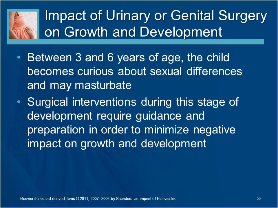 Impact of Urinary or Genital Surgery on Growth and Development