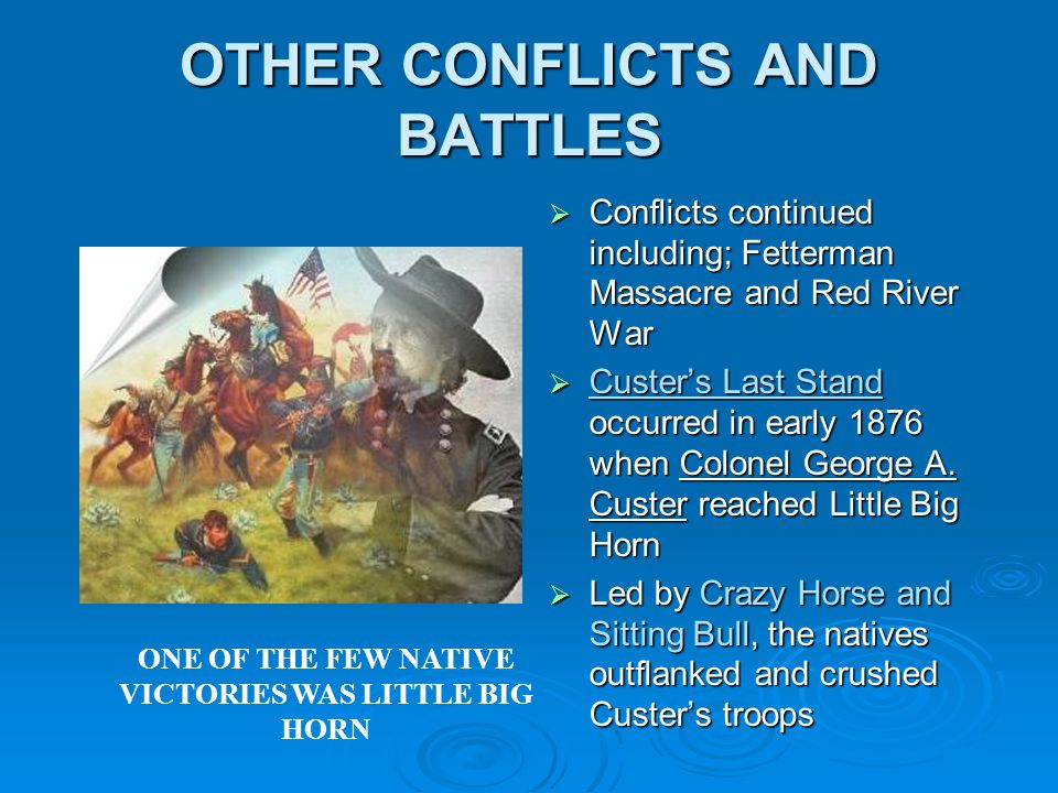 OTHER CONFLICTS AND BATTLES
