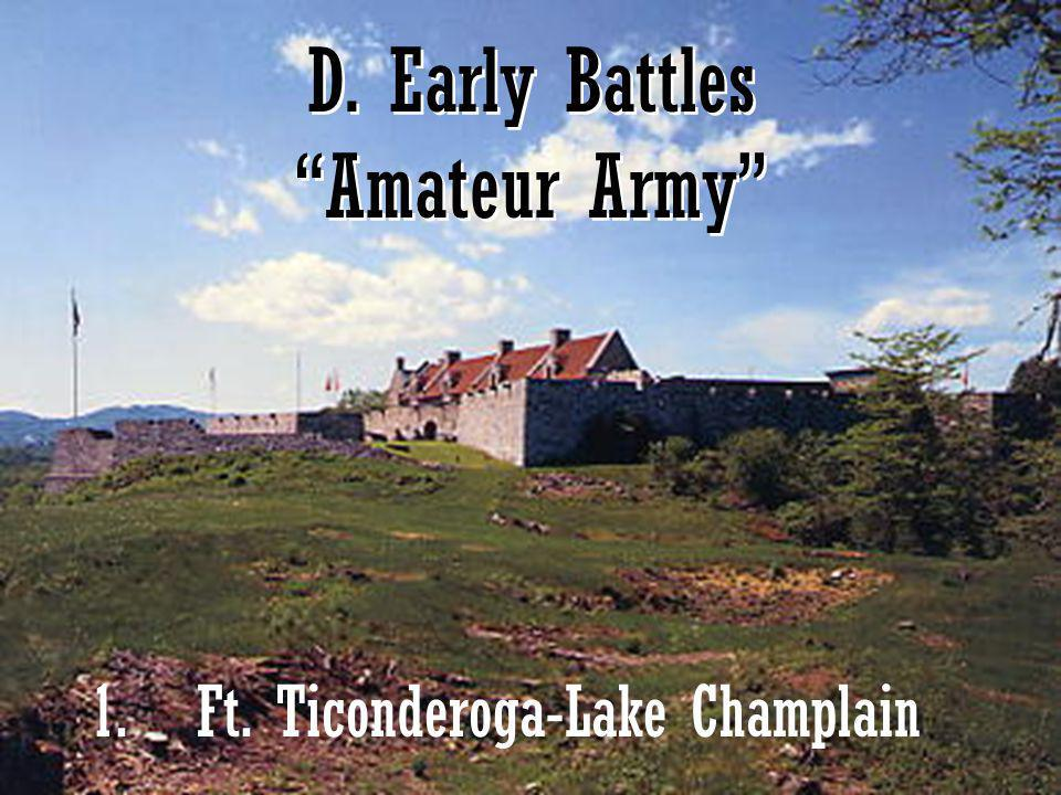 D. Early Battles Amateur Army