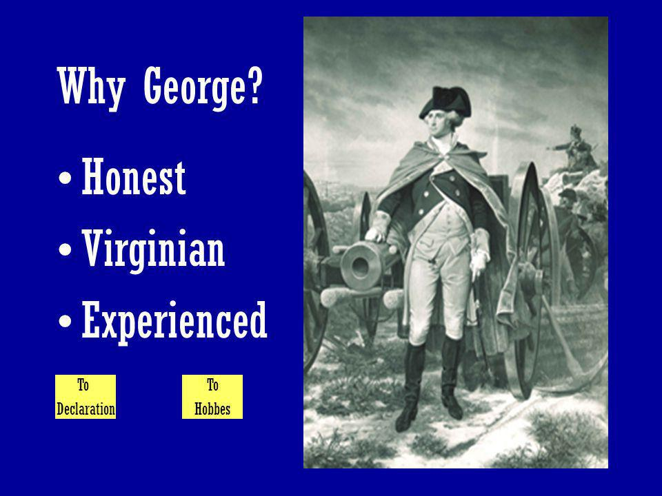 Why George Honest Virginian Experienced To Declaration To Hobbes