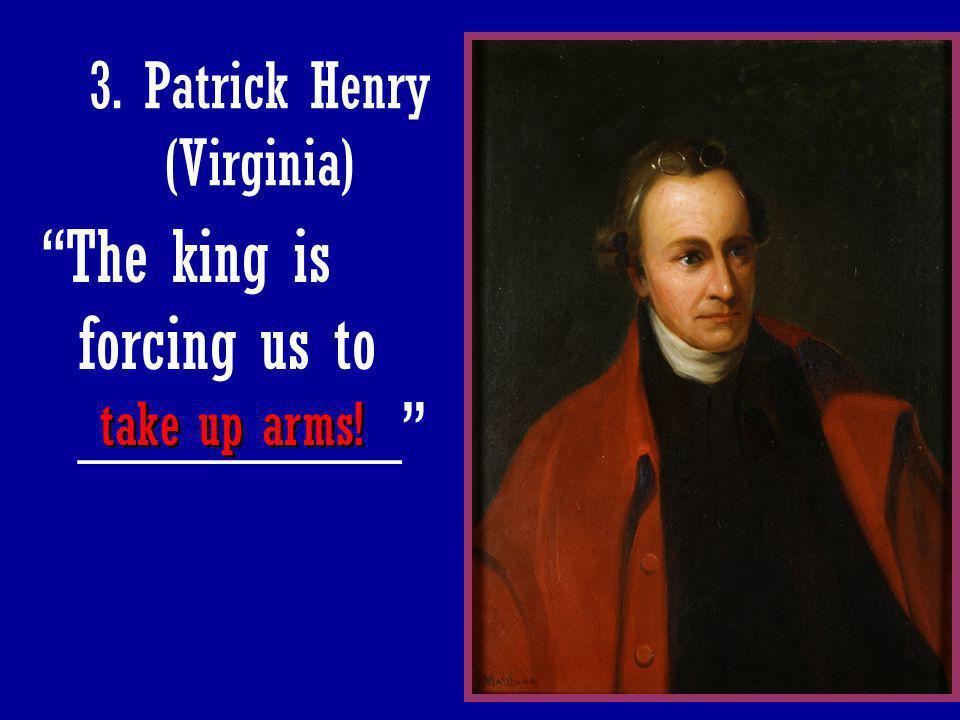 3. Patrick Henry (Virginia)