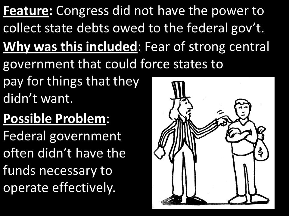 Feature: Congress did not have the power to