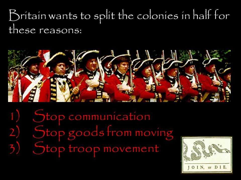 Stop communication Stop goods from moving Stop troop movement