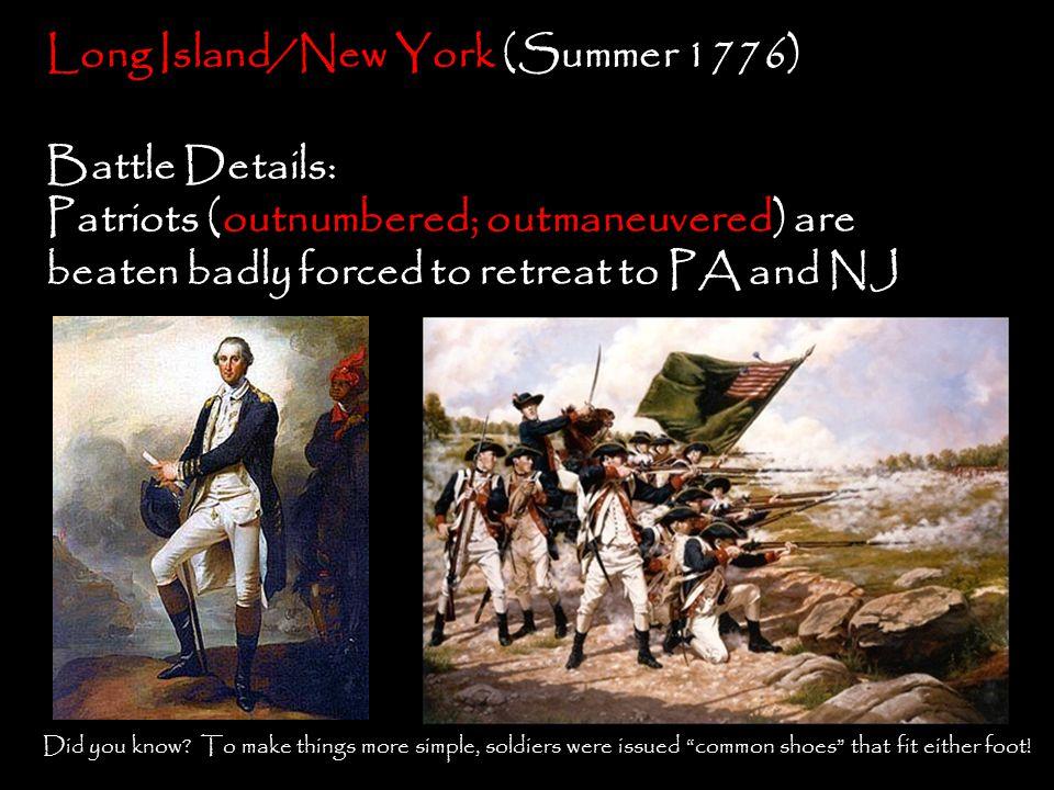 Long Island/New York (Summer 1776)