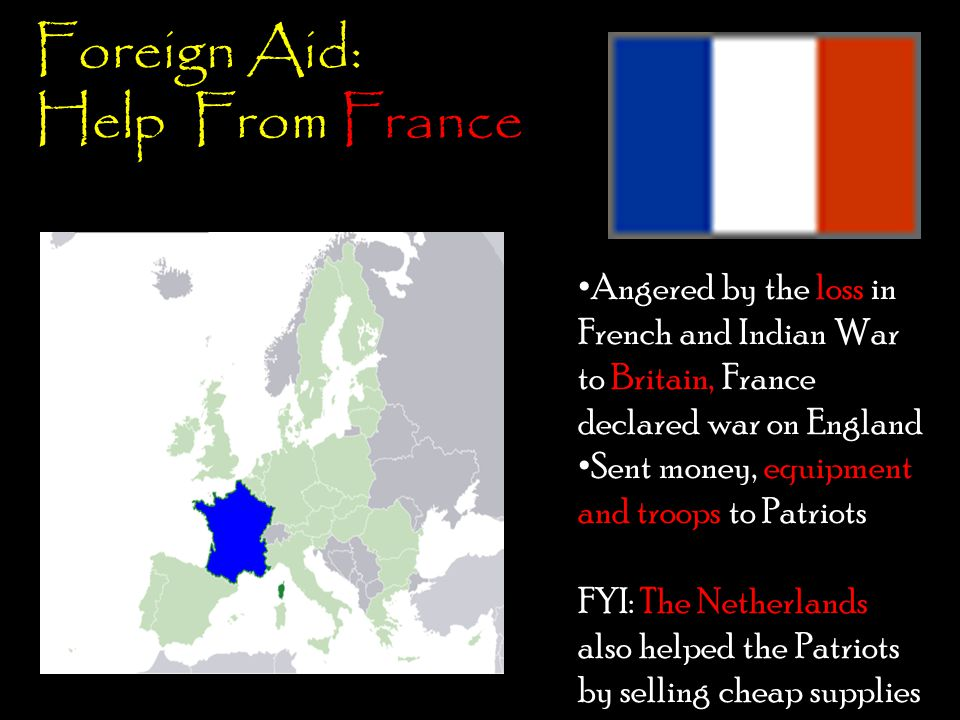 Foreign Aid: Help From France