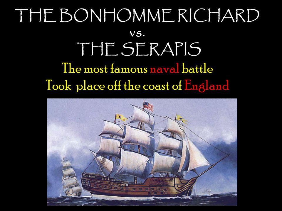 THE BONHOMME RICHARD vs.