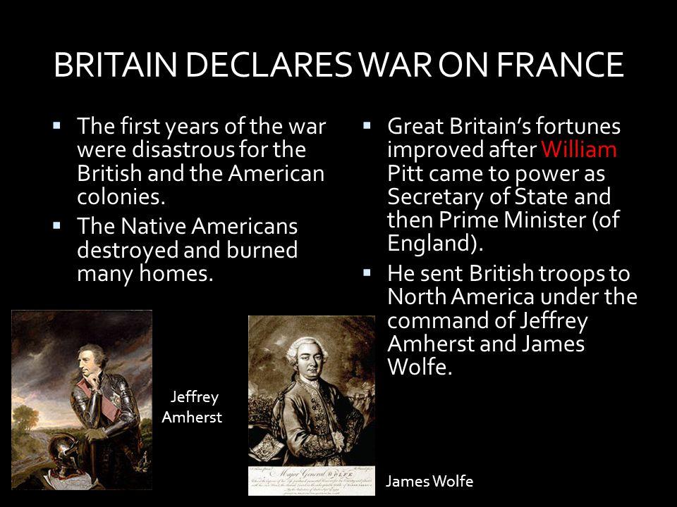 BRITAIN DECLARES WAR ON FRANCE