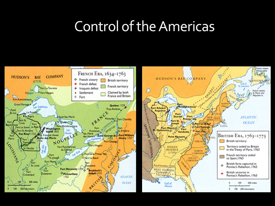 Control of the Americas