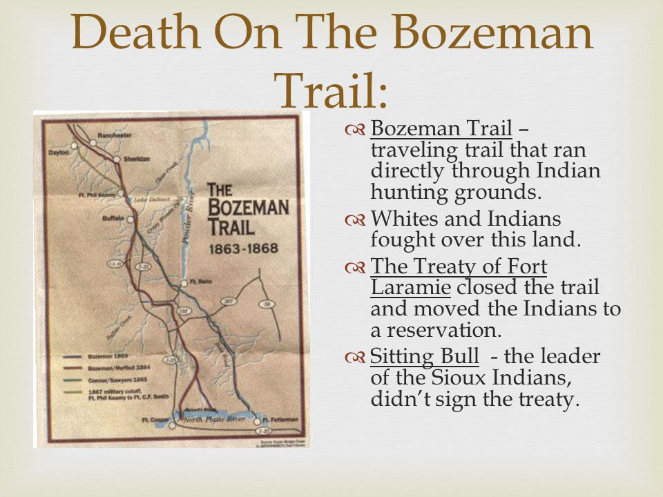 Death On The Bozeman Trail: