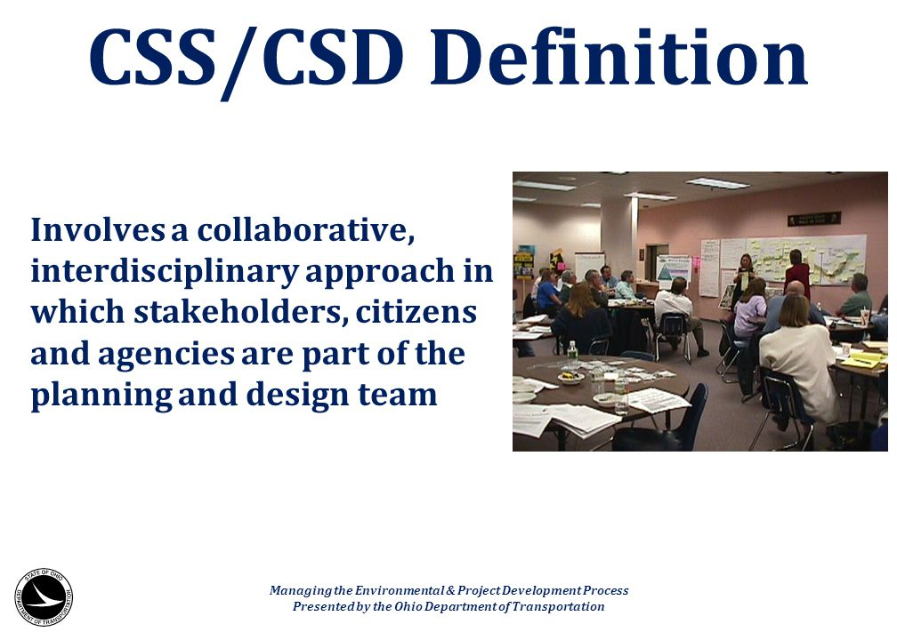 CSS/CSD Definition