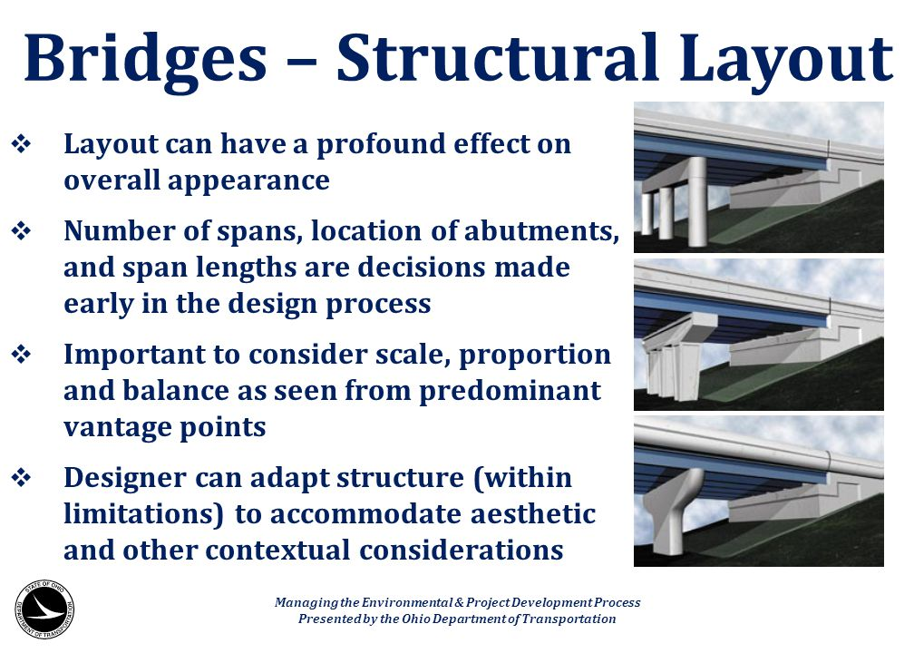 Bridges – Structural Layout