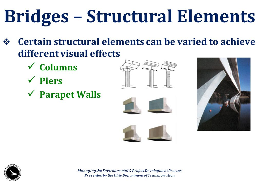Bridges – Structural Elements