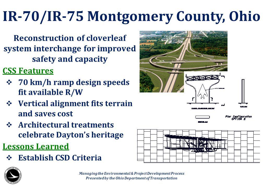 IR-70/IR-75 Montgomery County, Ohio