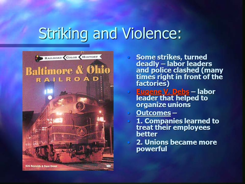 Striking and Violence: