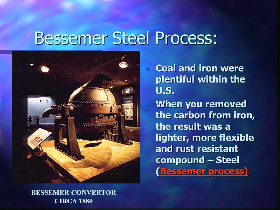 Bessemer Steel Process:
