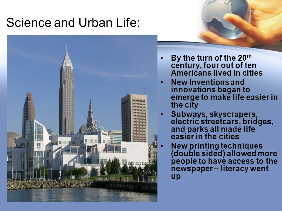 Science and Urban Life: