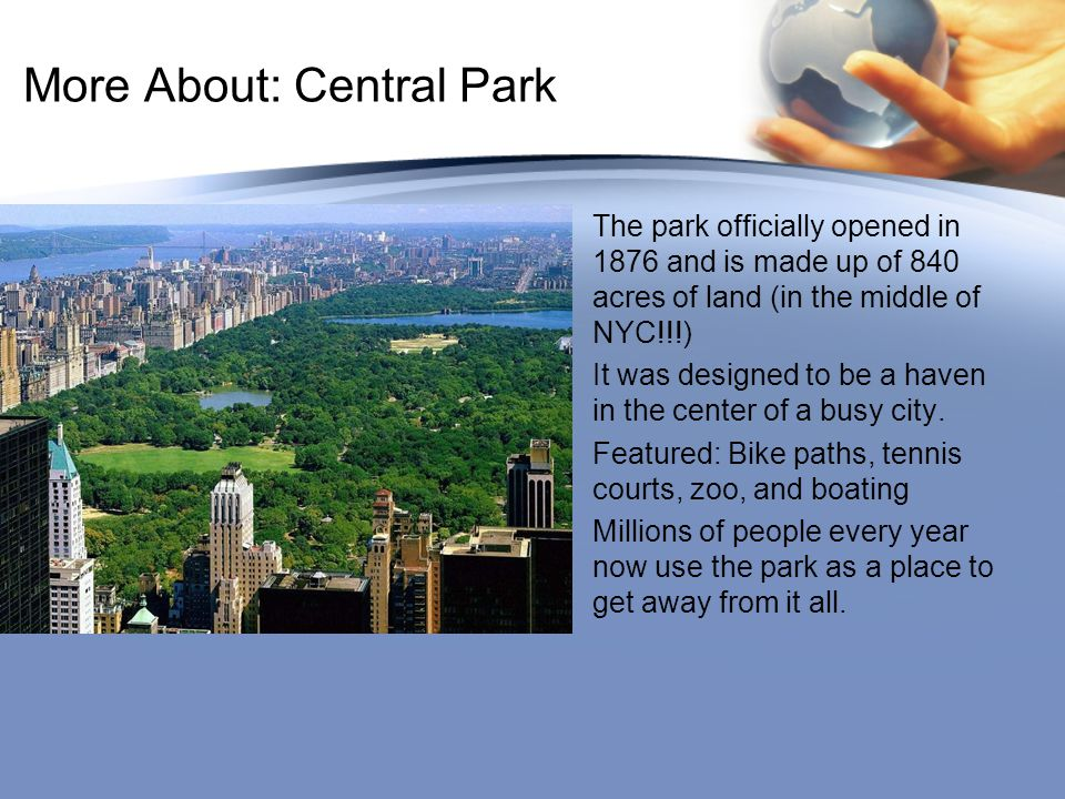 More About: Central Park
