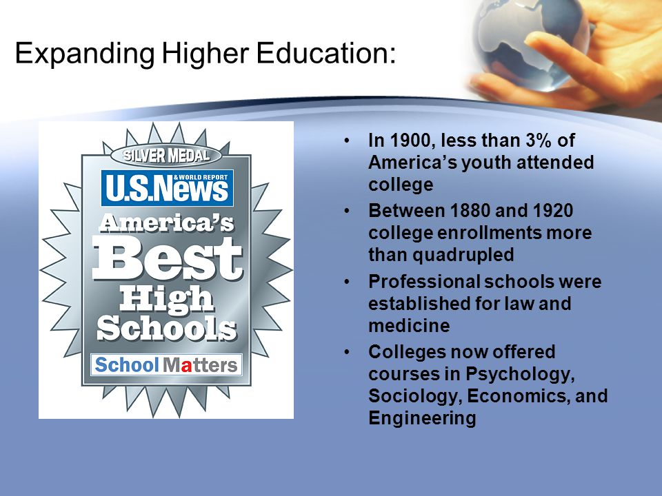 Expanding Higher Education: